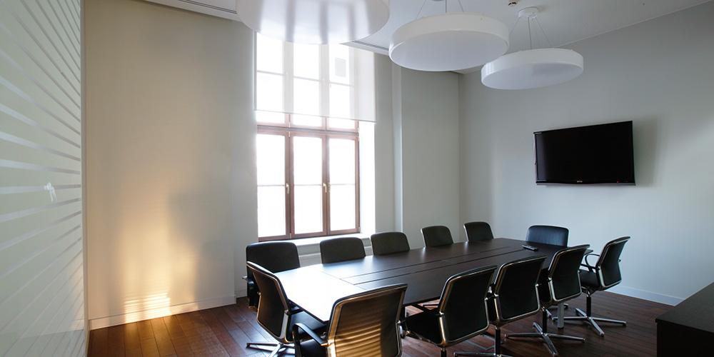 Дизайн интерьера офиса компании Akron Büro Interior Design