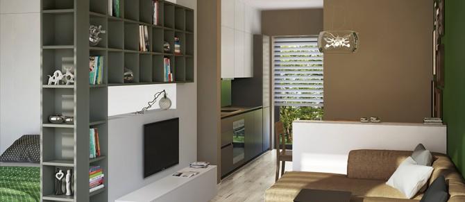 Wohnung Interior Design Wien, 1140