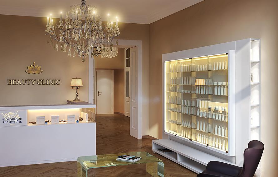 Дизайн интерьера салона Beauty Clinic в Вене Interior Design
