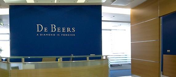 De Beers Büro Interior Design, Moskau
