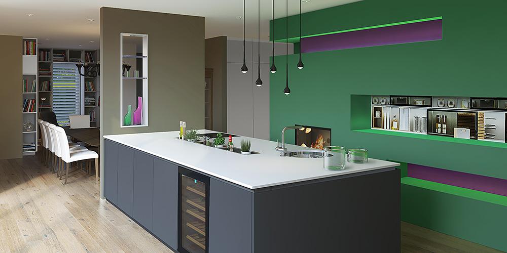 Дизайн интерьера дома в Австрии Haus Interior Design Österreich