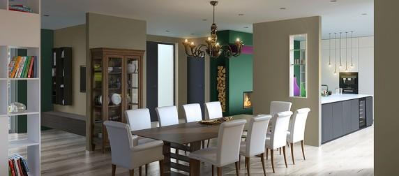 Haus Interior Design in Tulln, Österreich