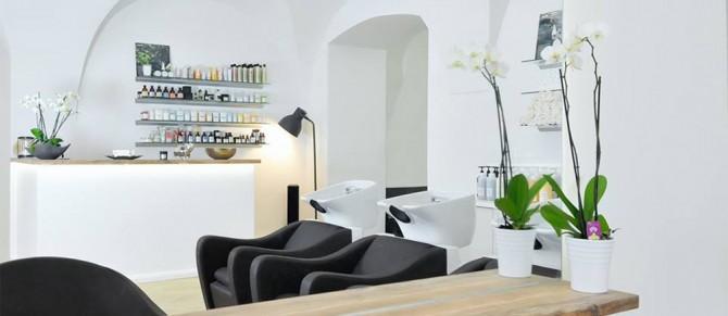 Дизайн интерьера салона INside Hair & More в Вене