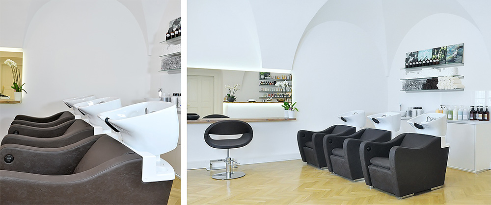 SPA Salon Interior Design Wien INside Hair and More