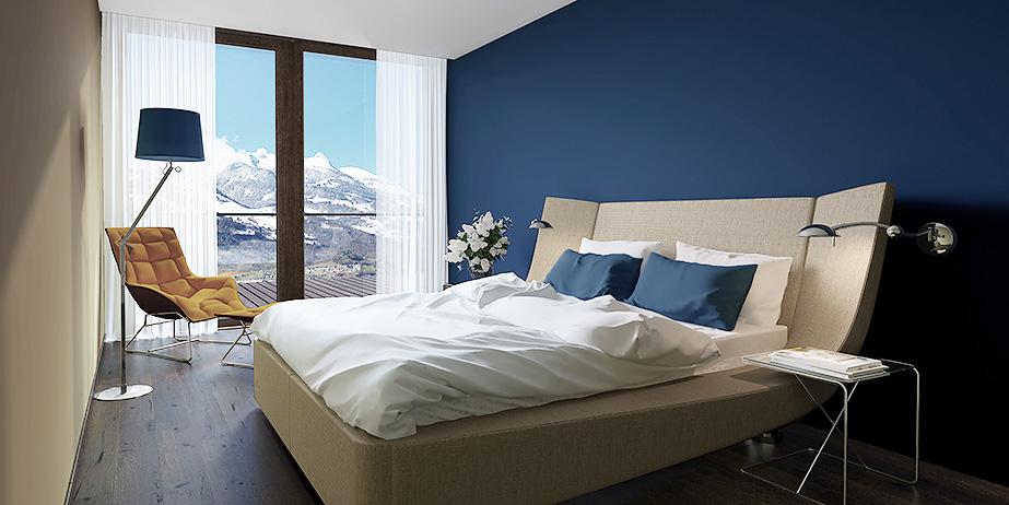 Дизайн интерьера квартиры в Лихтенштайне Wohnung Interior Design Lichtestein