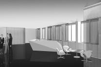 Дизайн вестибюля Европейского патентного бюро в Вене