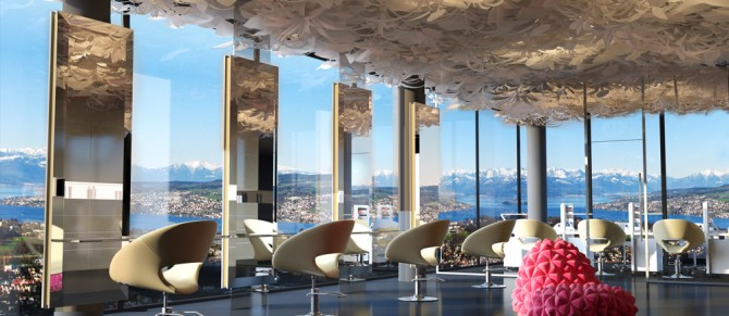 SPA-Salon Interior Design, Schweiz