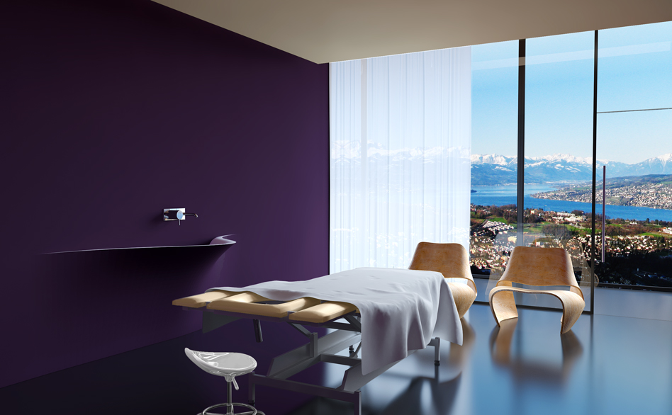 SPA-Salon Interior Design Schweiz