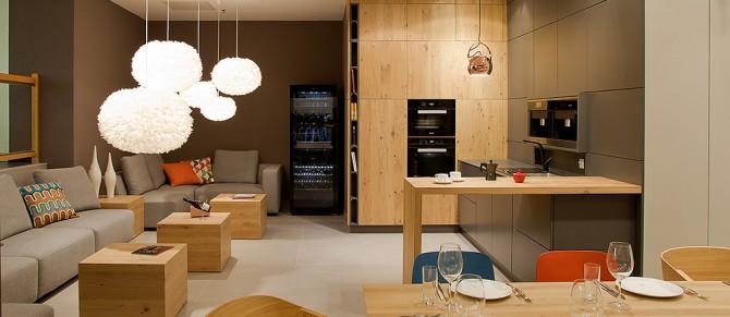 Дизайн интерьера студии Warendorf в Вене